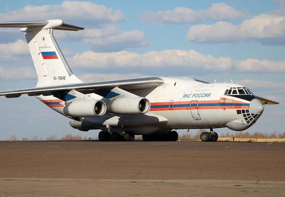 Самолет с гуманитарной помощью прибыл в Казахстан из России