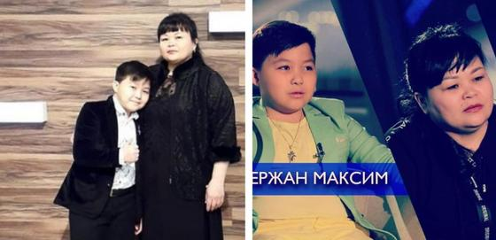Ержан Максим с мамой Гульмирой Алибек. Фото: Instagram
