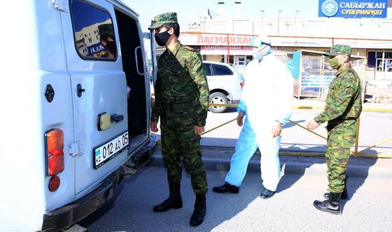 """Изолированный ЖК """"Асыл Арман"""" под Алматы будут охранять спецпризывники (фото)"""