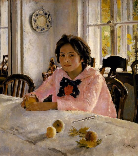 «Девочка с персиками» (Валентин Серов)