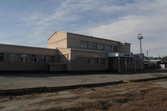 Железнодорожный вокзал Уштобе