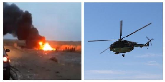 Все 13 военнослужащих погибли при крушении Ми-8 в Кызылординской области