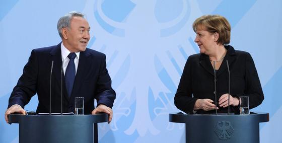 Телерадиокомплекс президента РК опубликовал архивное видео к 65-летию Меркель