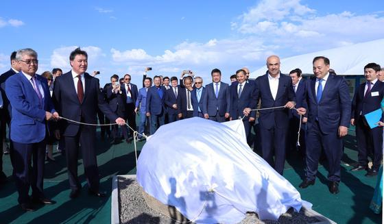 Каспий теңізі жағалауында еліміздегі ең үлкен аквапарктың іргетасы қаланды