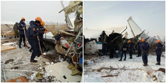 Три версии крушения самолета в Алматы озвучил Тургумбаев