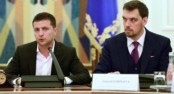 Премьер-министр Украины написал заявление об отставке