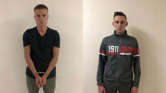 Фото задержанных