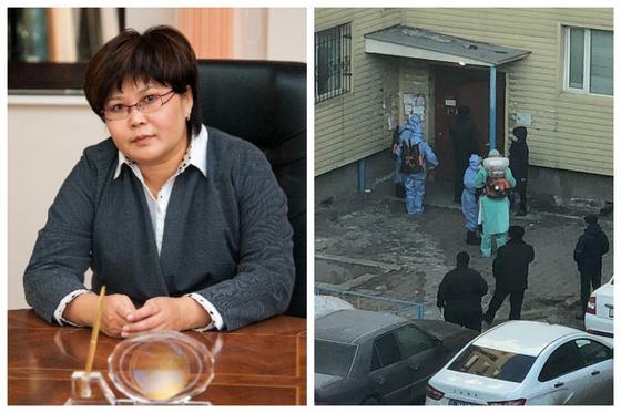 """""""Это неправильно"""": омбудсмен высказалась о закрытом на замок подъезде в Караганде"""