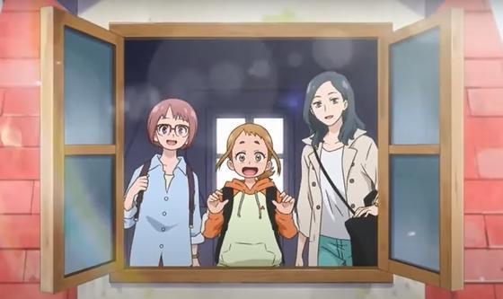 Кадр из анимационного фильма «В поисках учениц для ведьмы»