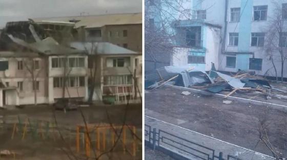 Двое погибли, 400 зданий пострадало: стали известны последствия шторма на севере Казахстана