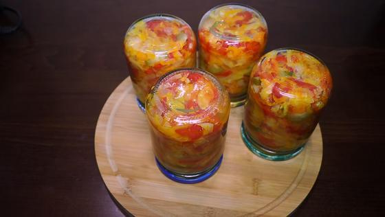 Зимний салат «Ассорти»