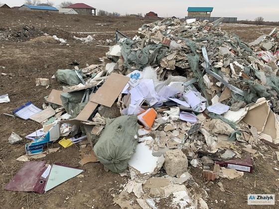 Свалка в Атырауской области