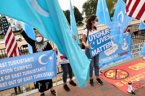 Активисты движения за независимость Восточного Туркестана