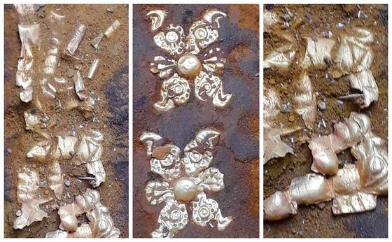 Ақтөбе облысынан алтын киіммен жерленген сармат көсемінің қорғаны табылды (фото)