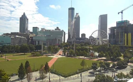 Атланта в режиме реального времени