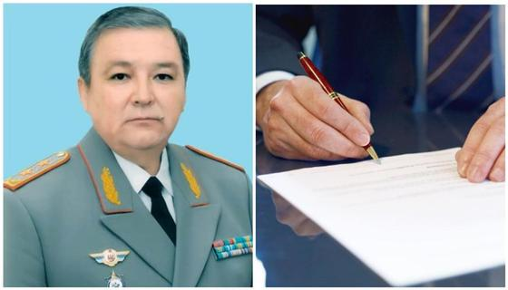 Мухтар Аюбаев назначен Командующим Силами особого назначения