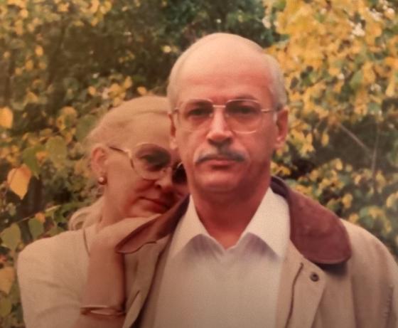 Игорь Выхухолев с супругой