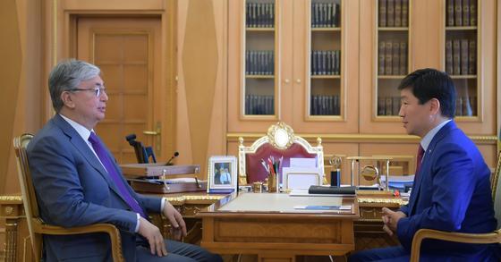 Токаев принял Бауыржана Байбека