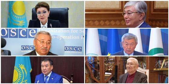 Коллаж: NUR.KZ. Фото: Ақорда, ҚР парламент сенаты, 24.kz, Жоғарғы сот, Facebook