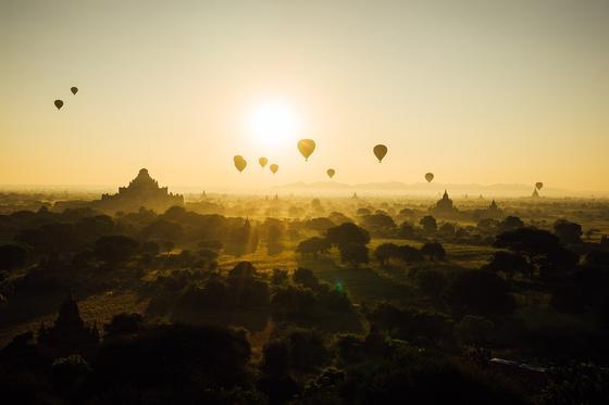 Панорама в Мьянме