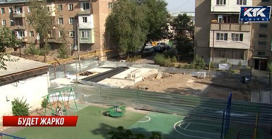 Строительство котельной в Каскелене