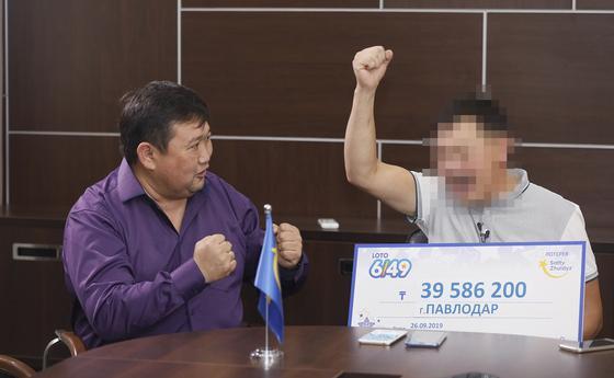 Водитель из Павлодара выиграл 39,5 миллионов тенге в лотерее «Сәтті Жұлдыз»