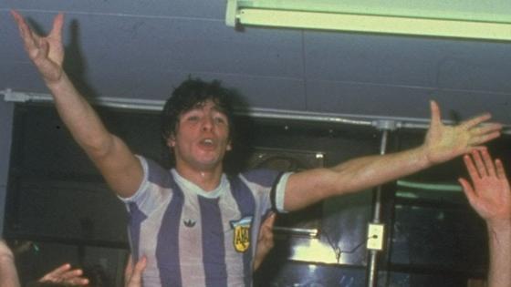 Диего Марадона молодой
