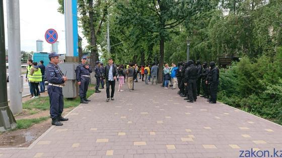 Какой была обстановка в городах Казахстана после призыва Аблязова к митингам (фото, видео)