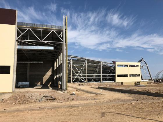 Строящийся спортивный комплекс обрушился в Чундже