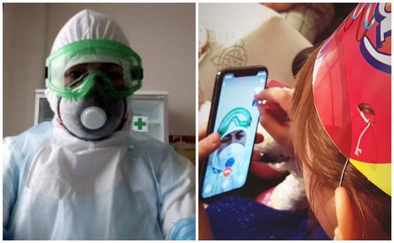 Астаналық бала туған күнінде жұмыста болған анасын көріп, жылап қалды (фото, видео)