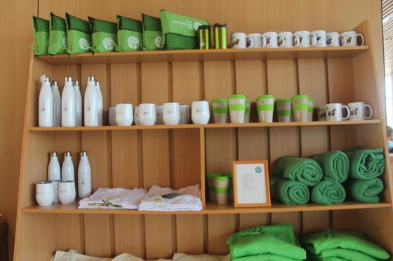 Магазин в алматинском Ботаническом саду