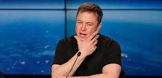 Более миллиарда долларов за две минуты потерял Илон Маск