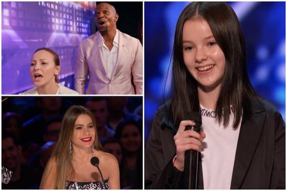 Данэлия Тулешова на America's Got Talent. Скриншот: YouTube-канал шоу