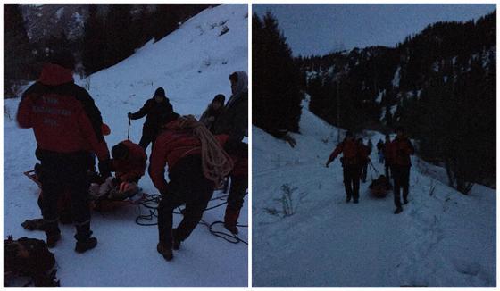 Отправилась в поход в кроссовках: девушку с обморожением спасли в горах Алматы (фото)