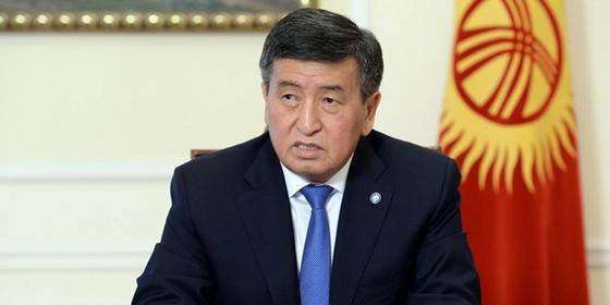 Фото: Қырғызстан президентінің баспасөз қызметі / Султан Досалиев