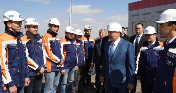 Назарбаев посетил новый физкультурный комплекс в Алматинской области (фото)