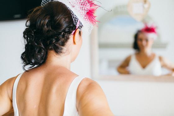 Невеста перед зеркалом