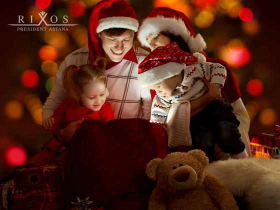 Где отметить Новогоднюю ночь с детьми в Астане