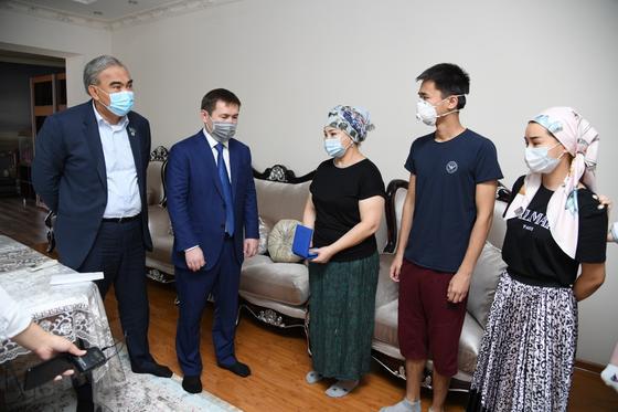 Мурат Айтенов: Погибшие врачи будут вечно в нашей памяти
