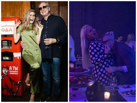 Целующего грудь блондинки Константина Меладзе сняли в баре