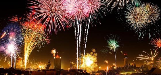 Где можно посмотреть салют в новогоднюю ночь в Астане