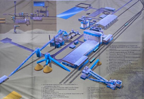 Новый завод в Карагандинской области