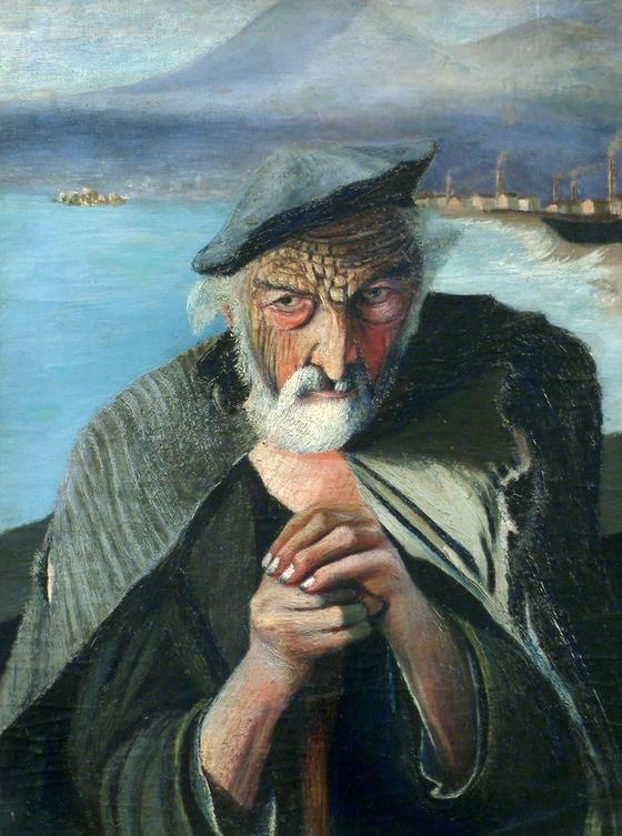 «Старый рыбак» (Тивадар Костка Чонтвари)