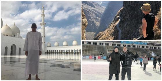 Где отдыхают казахстанские футболисты