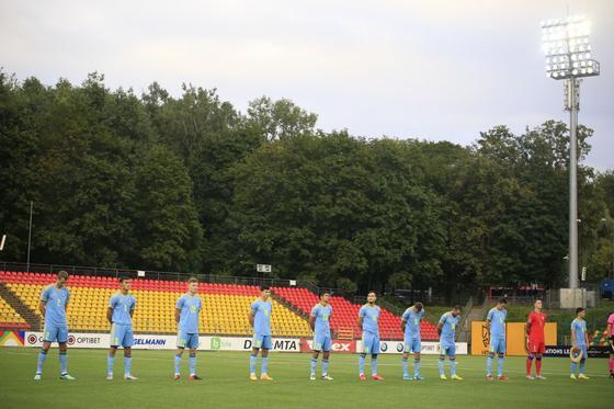 Матч сборных Казахстана и Литвы