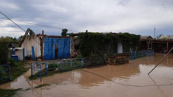 Сильный ливень подтопил дома в ВКО, людей пришлось эвакуировать (фото)