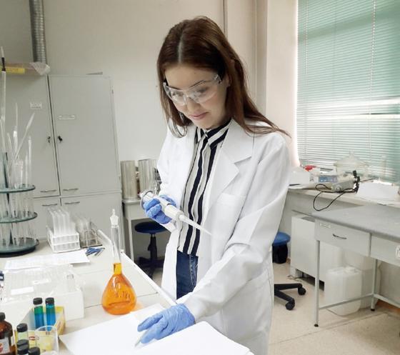Алия Альжанова, председатель совета молодых ученых ЕНУ