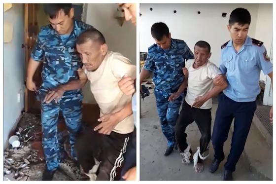 Мужчина сутки провел в доме со снесенной крышей в Арыси (видео)