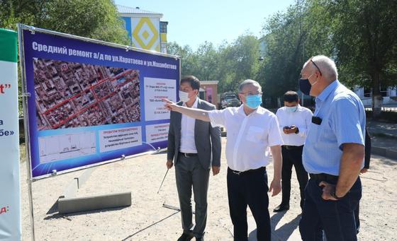 100 дворов заасфальтируют в Актобе в 2020 году