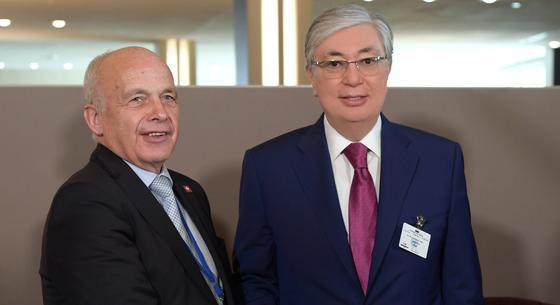 Президент Швейцарии посетит Казахстан